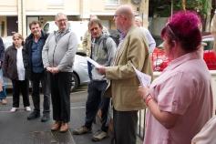 Richard Atkins from BBC Radio Gloucestershire opening the celebrations